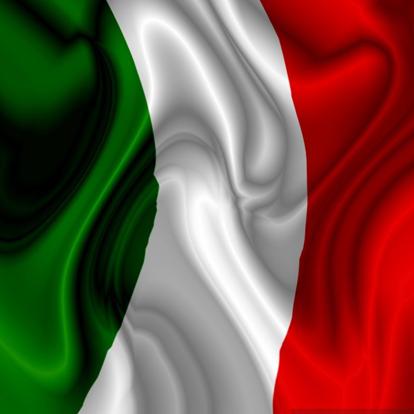 The Italy Flag.